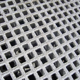 Mini mesh grating in use as marina decking
